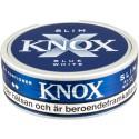 Knox Slim Blue White Portion Snus