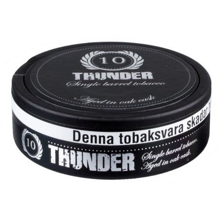Thunder 10 Years Portion