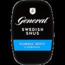 General Nordic Mint White Portion Snus