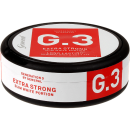 General G.3 Extra Strong Slim White Portion Snus