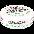 Nick & Johnny Green Ice Slim White Portion Snus