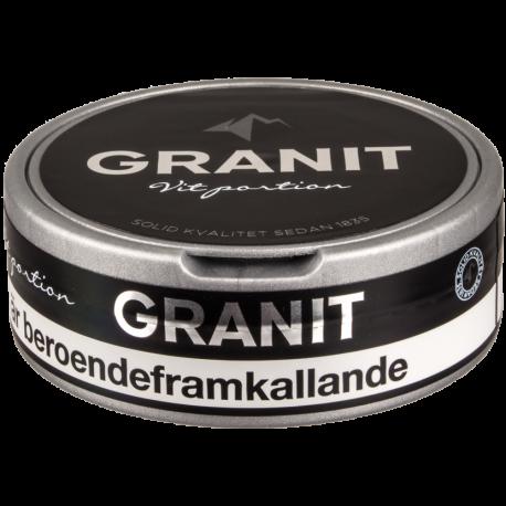 Granit White Portion Snus