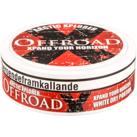 All Out Offroad >> Offroad X White Dry Portion Snus