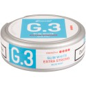 G.3 Slim White Mint Extra Strong Portion Snus