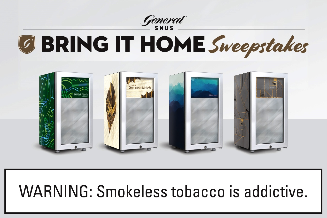 The General Snus Bring it Home Sweepstakes