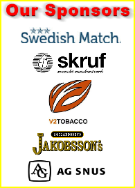 Support our Sponsors the next time you buy snus!