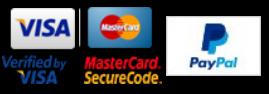 We Accept Visa, Mastercard, and PayPal!