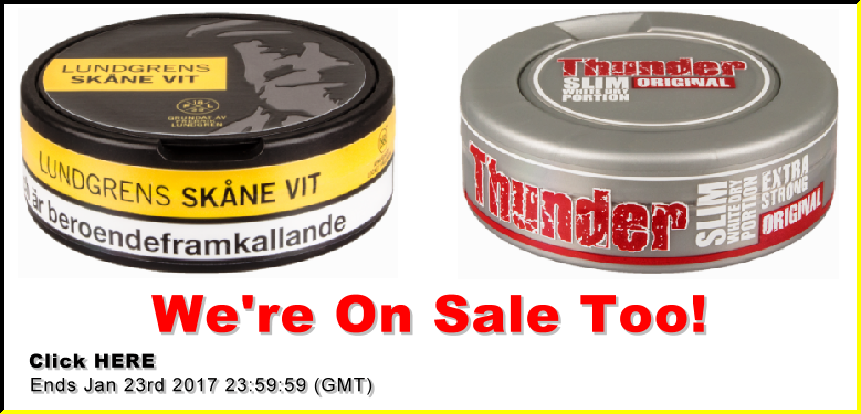 More Snus favorites on Sale!