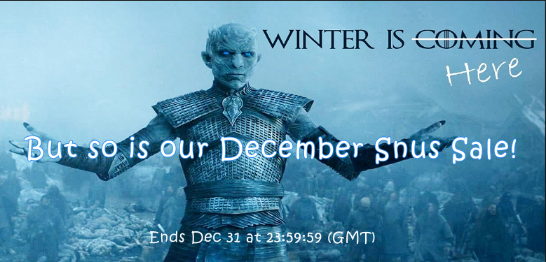 The SnusCentral.com December Snus Sale Continues! Don't Miss Out!