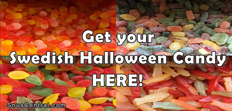 Get you Swedish Halloween Candy HERE!