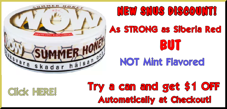 TRY a can of WOW! Summer Honey Dry White Explosion; GET $1 OFF at Checkout!