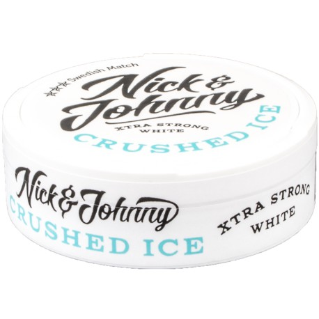 Nick & Johnny Crushed Ice White Xtra Strong Portion Snus
