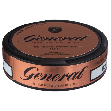 General Classic Mini Portion Snus