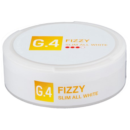 G.4 Fizzy Slim All White Portion