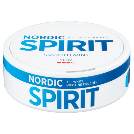 Nordic Spirit Smooth Mint Slim All White