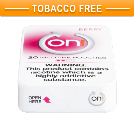 On! Berry 2 Nicotine Pouches