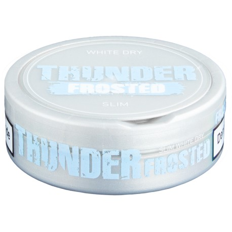Thunder Extra Strong Frosted Slim White Dry