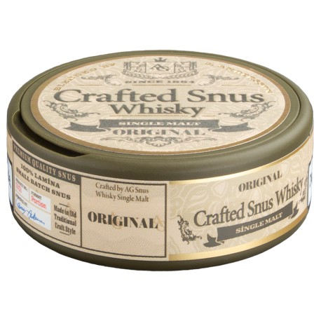 Crafted Snus Whisky Original by Conny Andersson