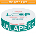 LOOP Jalapeno Lime Strong Slim All White Nicopods