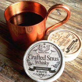 Crafted Whisky Snus by Conny Andersson