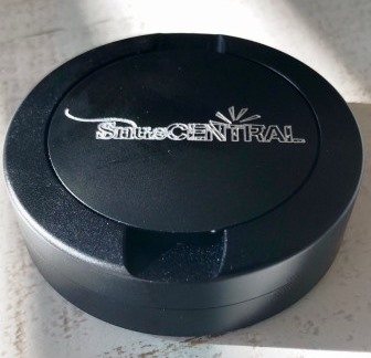 The stylish SnusCENTRAL Black Aluminum Snus Can by DUS....classy!