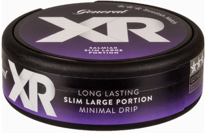 XRANGE General Salmiak Slim Large Portion Snus
