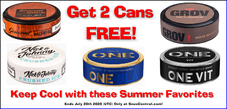 You're Going to LOVE this Week's Swedish Match Snus ON SALE!