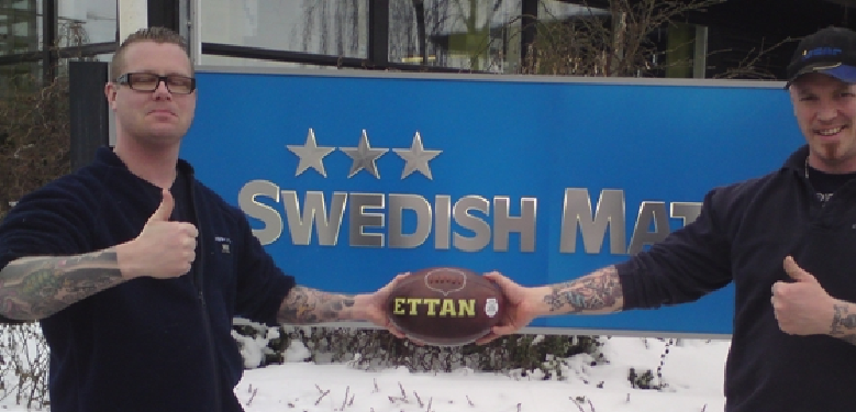 Those Swedes Sure Love Their Football!
