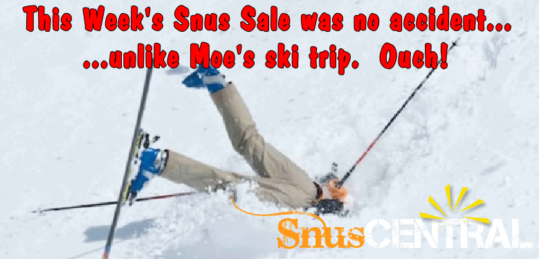 The SnusCentral.com January Snus Sale is Nice and Warm Just for You! w2