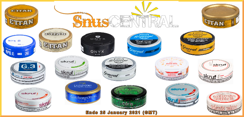 Wrap your lip around this week's SnusCentral.com Snus on Sale!
