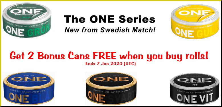 This is ONE Snus Sale you DON'T Want to Miss! (Another famous play on words by me, Moe Unz)