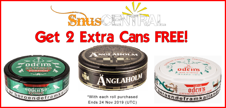 More Snus ON SALE from GN Tobacco this Week!