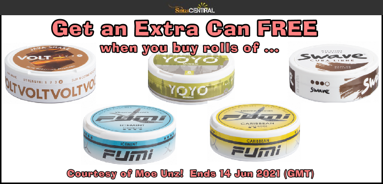 Get a FREE Can on Moe when you buy rolls of any of these NEW PRODUCTS!