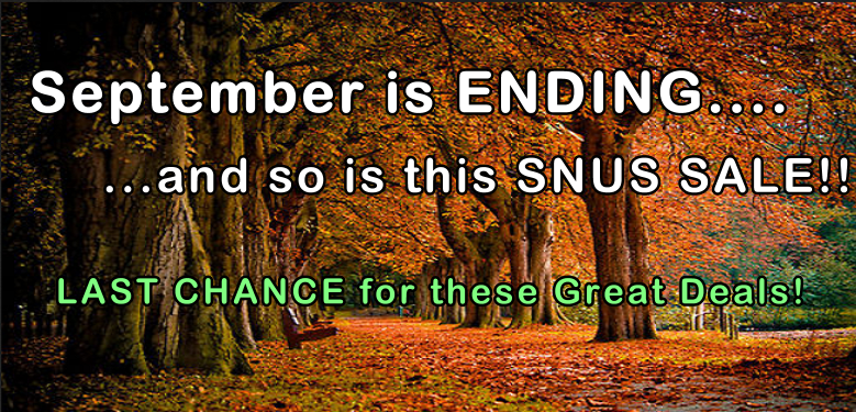 September is ENDING! Grab these falling prices while you can!