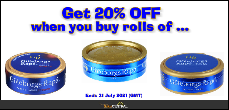 Get 20% OFF All July Long on GR' Loose, GR' Lingon, and GR' Large White!