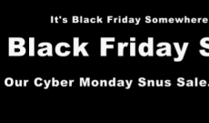 Black Friday Snus Sale starts Thursday!