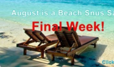 Where did the summer go? It's the FINAL WEEK of our August Snus Sale!