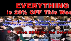 Black Friday Week 2020 means 20% Off Everything at SnusCentral!